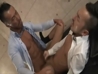japanese Japanese Muscle Daddy Fucks Co-worker! muscle