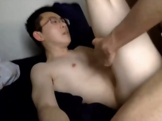 0004 0004 2 Handsome Asians Fuck With Condom handsome