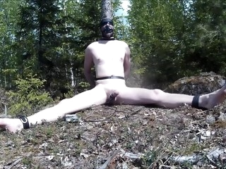 electro Electro torture in the forest. torture