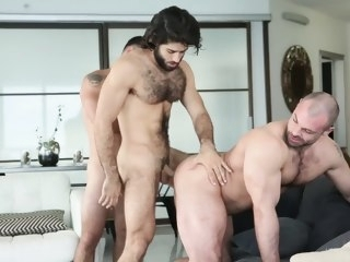 vadim Vadim Black & Diego Sans in 2 Bottoms & 1 Top - MenNetwork black