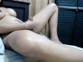 ass Hot Ass Tranny Jerking Her Dick On Cam tranny