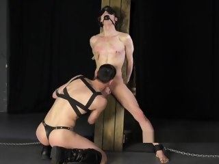 dick Big Dick Master Turns Young Ballet Twink Into Bondage Slave master