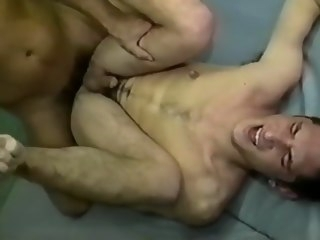 verbal Verbal daddy Jon Vincent facefucks and pounds twink daddy