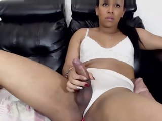 sexy Sexy candy latina stroking candy