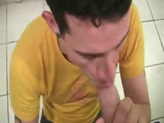 twink Twink takes the load in his mouth with slo-mo takes