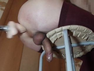 sissy Sissy leaking from Fuckmachine leaking