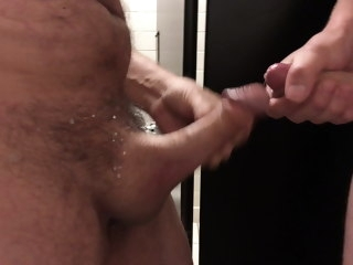 anonymous Anonymous washroom frot cumshot washroom