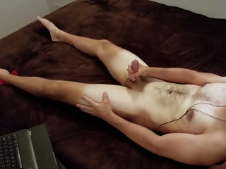 str8 Str8 Otter's Vocal, Cock Twitching Masturbation otter