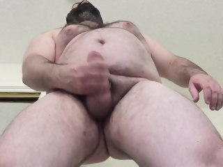 strong Strong bear cumming handsfree bear