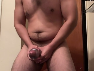 powerful Powerful cumshot using toy cumshot