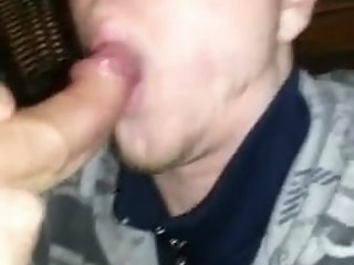 massive Massive load lands on twink's face load