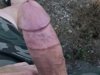 outdoor Outdoor jacking (no cum) jacking