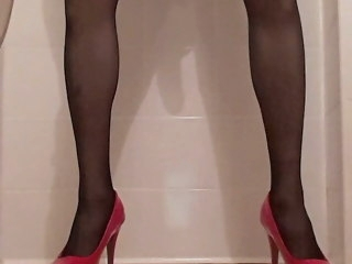 black me in black stockings stockings