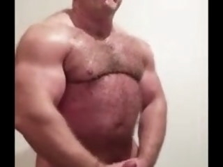 muscle Muscle Strongman Jerk off strongman