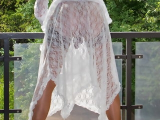 sheer Sheer White Lace 1 - The Prelude lace
