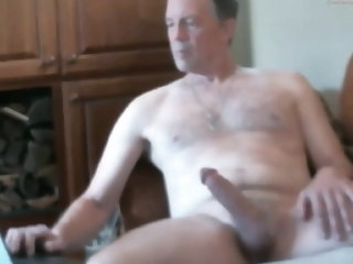 dicked Big dicked dad wanking 008 dad